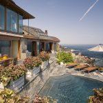 modern oceanfront landscape design