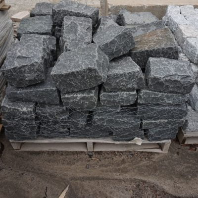 Jumbo Cobblestone Black by South Shore Landscape Supply