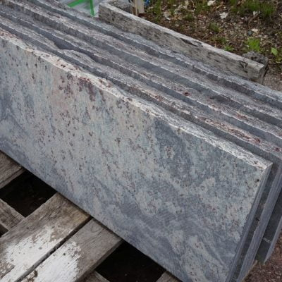 Ticonderoga Granite Tread Wide by South Shore Landscape Supply