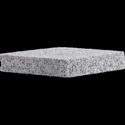 gray granite flat cap