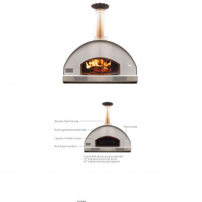 Techo Forno Pizza Oven