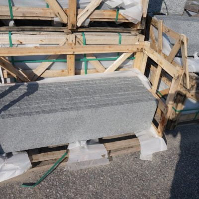Blue Mist Granite Tread by South Shore Landscape Supply