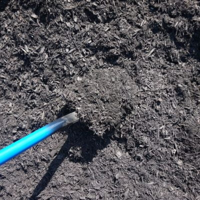 Cape Cod Black Mulch by South Shore Landscape Supply