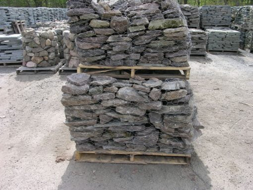 "Pa. Fieldstone Flat 1-3"" by South Shore Landscape Supply"