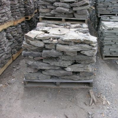"Pa. Fieldstone Flat  3-6"" by South Shore Landscape Supply"