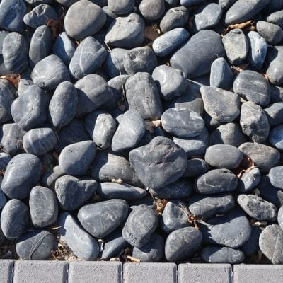 Polished Beach Pebbles 40LB Bag