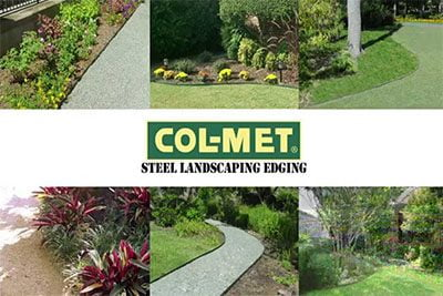 Col-Met Steel Landscape Edging