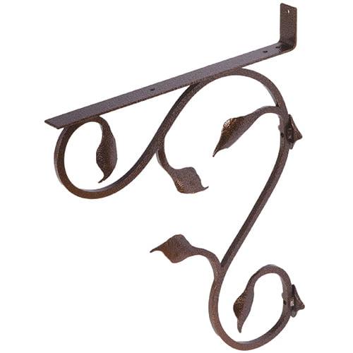 iron mailbox bracket copper