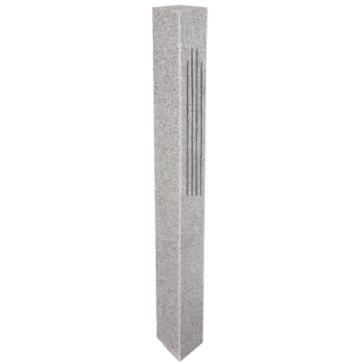 Granite Lantern Post – Gray (2...