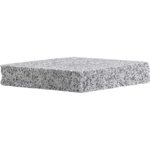 gray granite flat cap