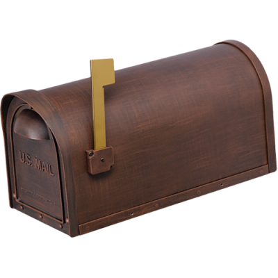 Cast Aluminum Mailbox – Copper