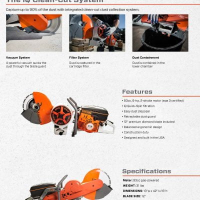 IQPC912v Power Cutter System –...