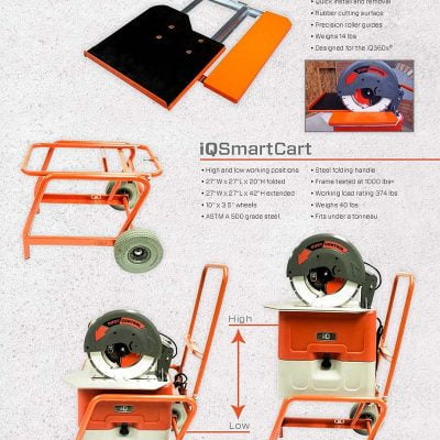 IQ3xRT Rolling Table (for IQ360x)